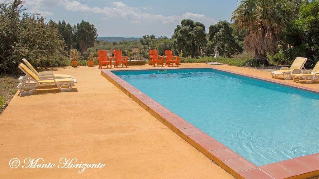 Vlindervakantie Portugal Zwembad